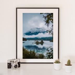 Foggy Islands 1 | Eibsee