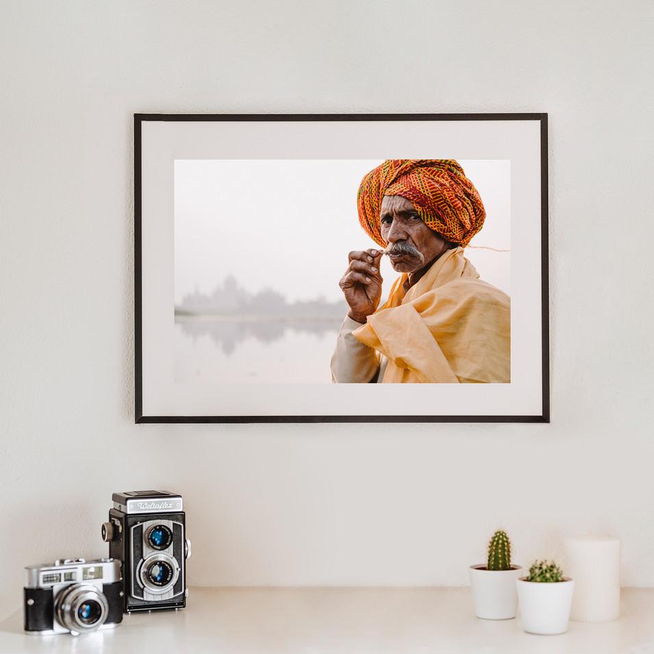 Man in Rajasthan 2   Indien