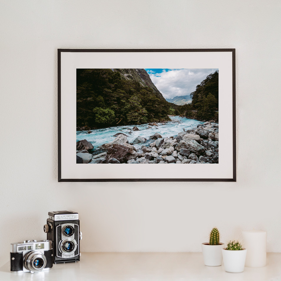 River   Neuseeland
