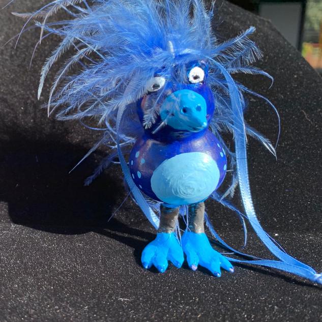 Blue Bird Gourd ($20)