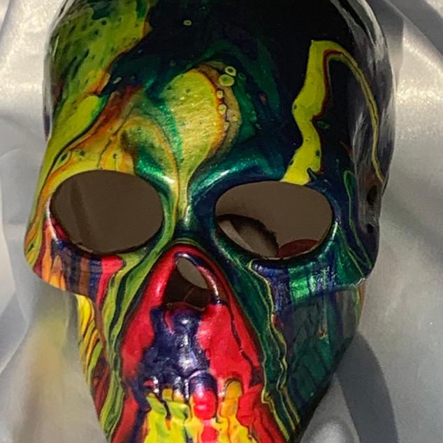 Rainbow skull $30