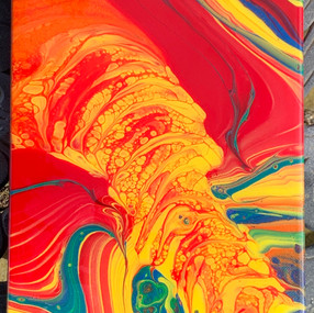 "Hydrothermal Vent 9"" x 12"" -  $54"