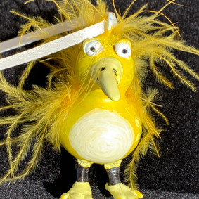 Yellow Bird Gourd ($20)