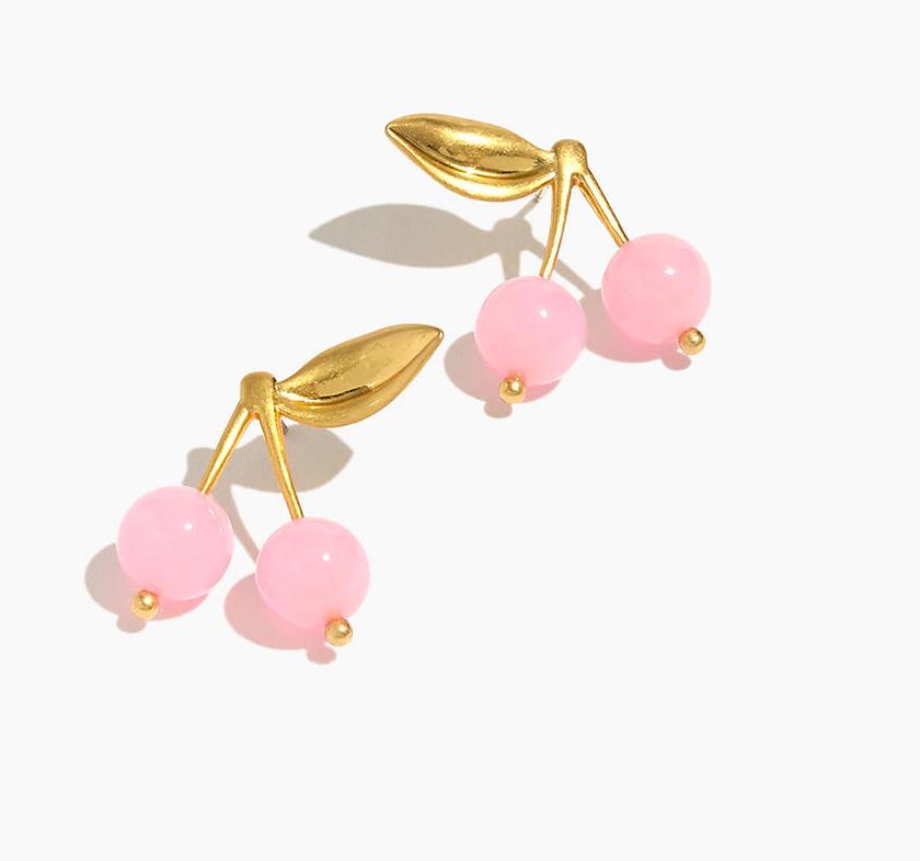 Madewell – Sweet Cherry Earrings