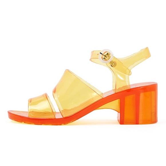 American Apparel – Jelly Sandal Heels