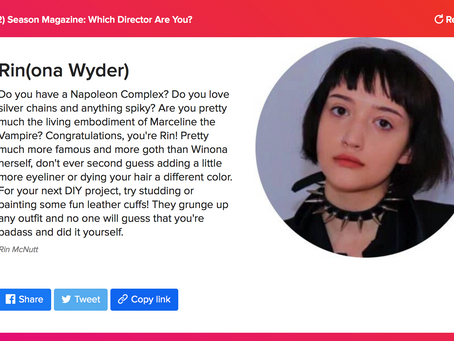 QUIZ: Which Season Director are You?