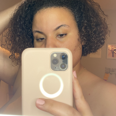 """""""I got my edges back""""...and my eyebrows. My experience with the Edge Naturale Follicle Enhancer."""