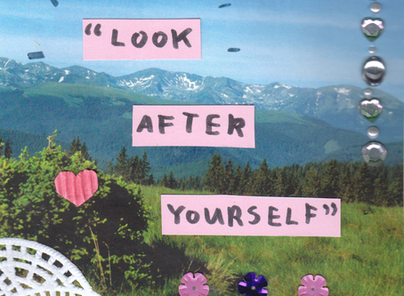 Loving yourself means setting aside time to self-reflect and self-indulge
