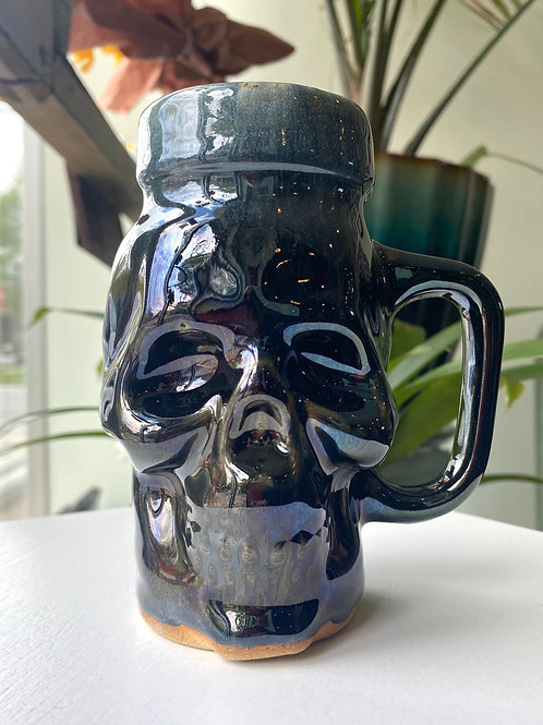 Ceramic skull // mug