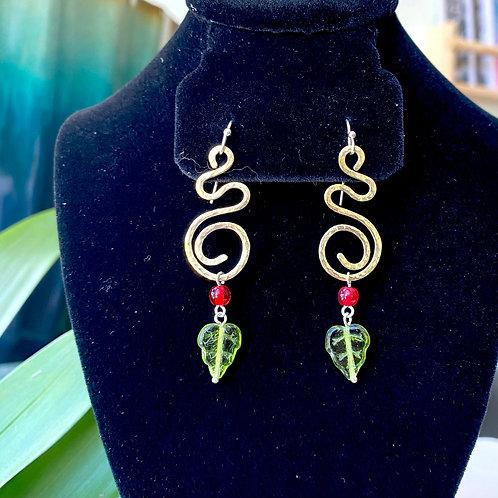 Rosebud // earrings