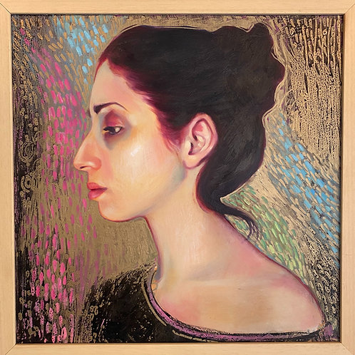 """Portrait of an Artist"" // oil painting"