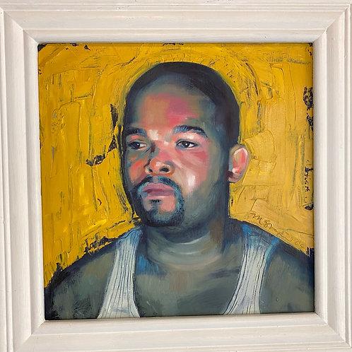 """Portrait of a Man"" // oil painting"