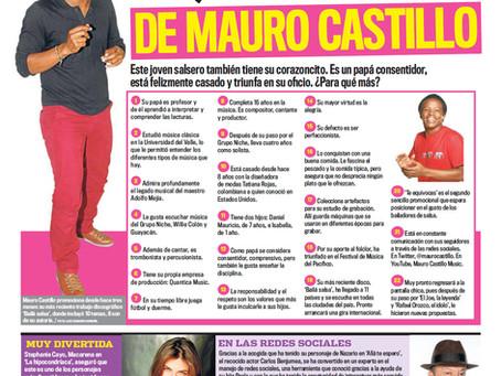 LO QUE DEBES SABER DEL ACTOR Y MUSICO COLOMBIANO MAURO CASTILLO