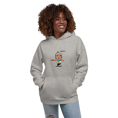 Unisex Hoodie - Fly With Caro