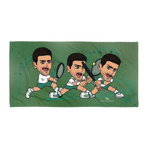 Towel - Novak Djokovic Spiderman backhand