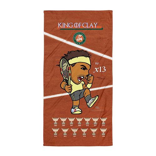 Towel - Rafael Nadal King of Clay