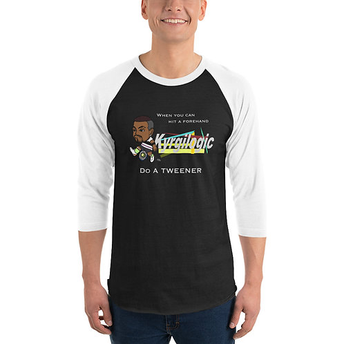 Unisex 3/4 sleeve raglan shirt - Nick Tweener