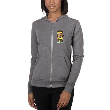 Unisex zip hoodie - Stefanos