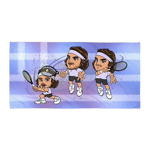 Towel - Stefanos Tsitsipas incredible forehand