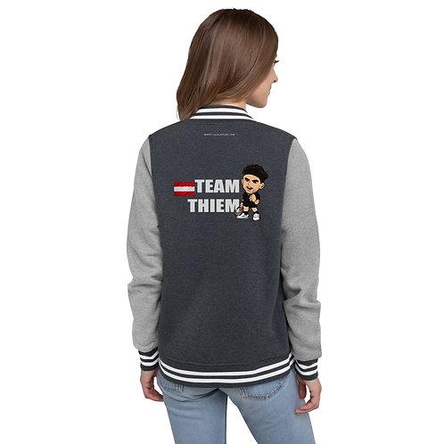 Women's Letterman Jacket - Domi Team Thiem