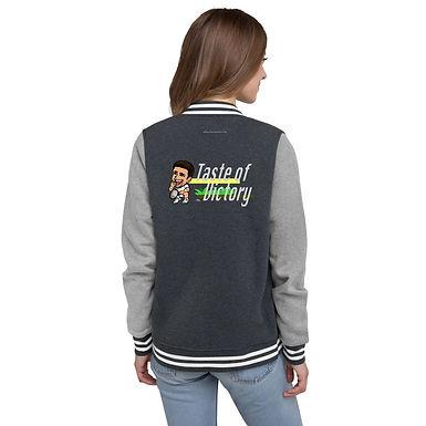 Women's Letterman Jacket - Novak Taste of Victory