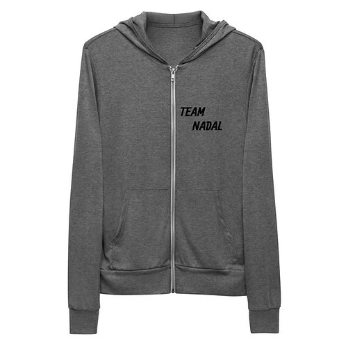 Unisex zip hoodie - RAFA smile