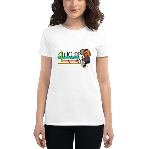 Women's short sleeve t-shirt - Rafa King of Clay