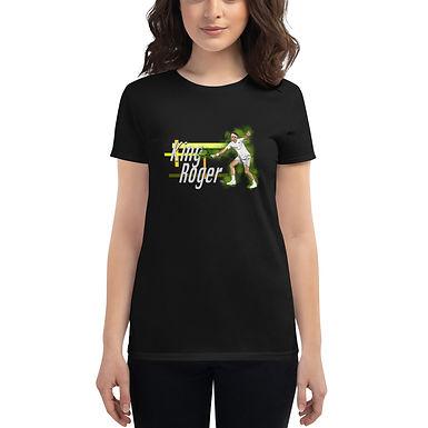 Women's short sleeve t-shirt - Roger King of Grass R