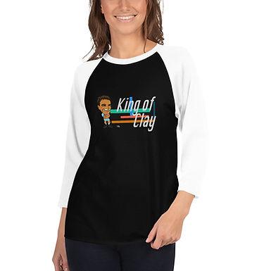 Unisex 3/4 sleeve raglan shirt - Rafa 2020 Cute Smile