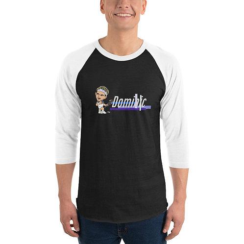 Unisex 3/4 sleeve raglan shirt - Domi