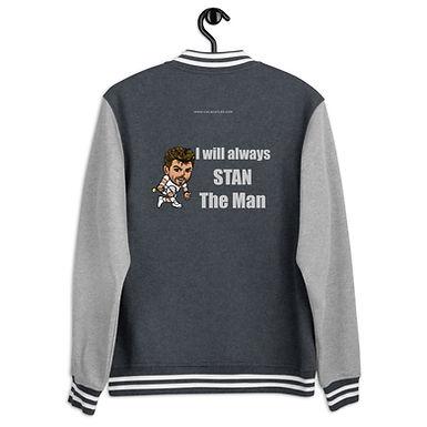 Men's Letterman Jacket - Stan the man