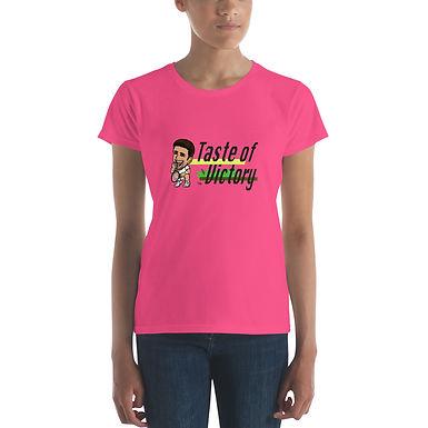 Women's short sleeve t-shirt - Novak Taste of Victory