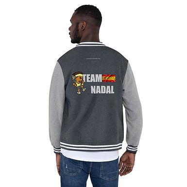 Men's Letterman Jacket - Rafa Team Nadal