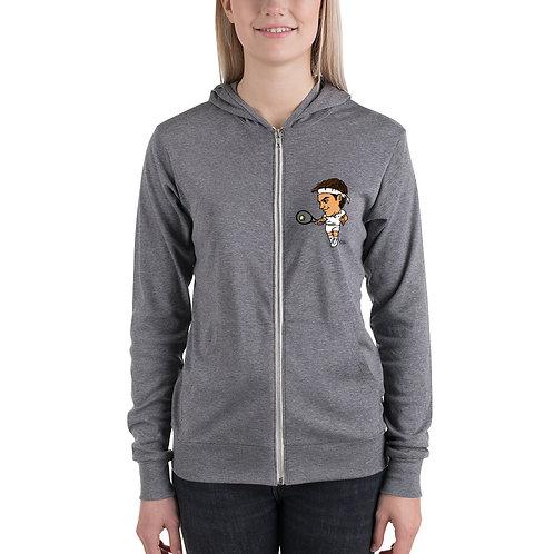Unisex zip hoodie - King Roger
