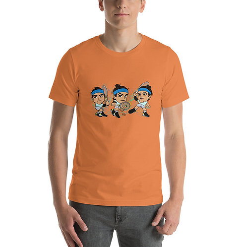 Short-Sleeve Unisex T-Shirt - Lorenzo Musetti