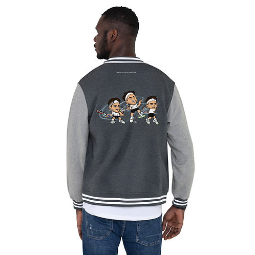 Men's Letterman Jacket - Domi forehand