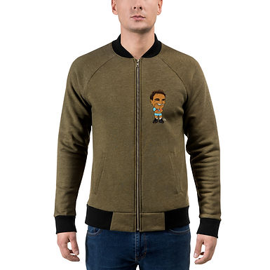 Unisex Bomber Jacket - Rafa 2020 Cute Smile
