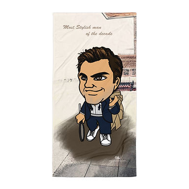 Towel - Roger Federer Most Stylish man of the decade