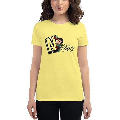 Women's short sleeve t-shirt - Spider Novak