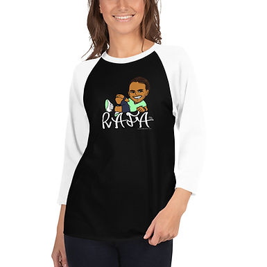 Unisex 3/4 sleeve raglan shirt - RAFA smile