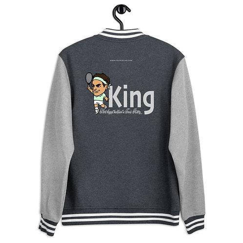 Women's Letterman Jacket - King Roger elegant backhand