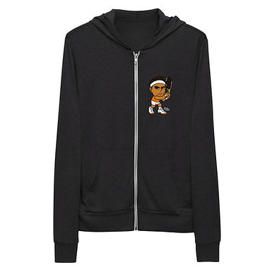 Unisex zip hoodie - Rafa Signature Forehand