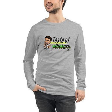 Unisex Long Sleeve Tee - Novak Taste of Victory