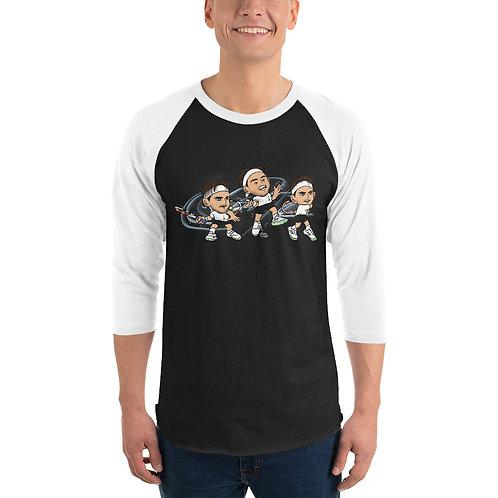 Unisex 3/4 sleeve raglan shirt - Domi forehand
