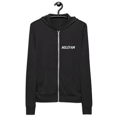 Unisex zip hoodie - Novak Celebrate copy