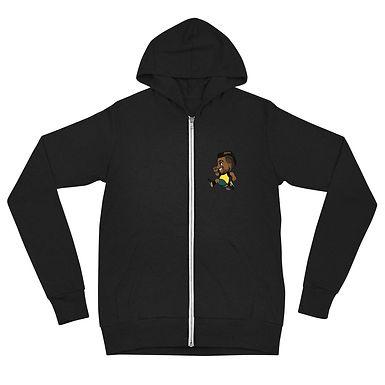 Unisex zip hoodie - Nick Tweener