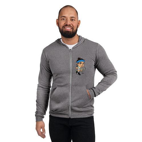 Unisex zip hoodie - Lorenzo Musetti