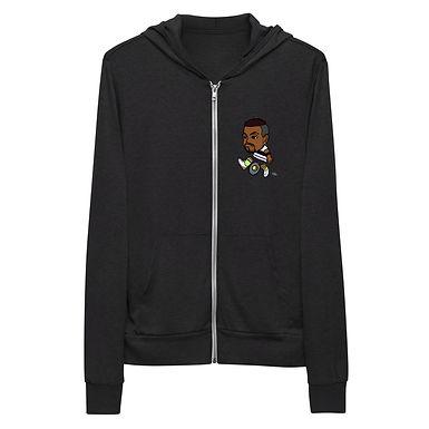 Unisex zip hoodie - Nick