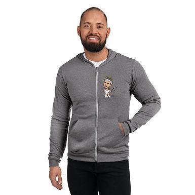 Unisex zip hoodie - Domi