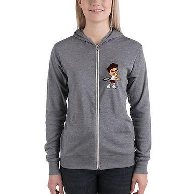 Unisex zip hoodie - Roger